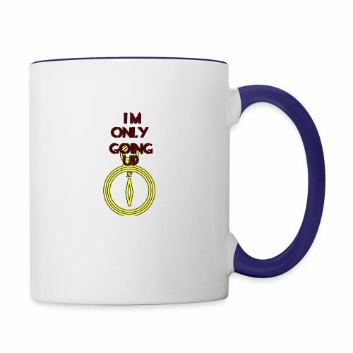 Im only going up - Contrast Coffee Mug
