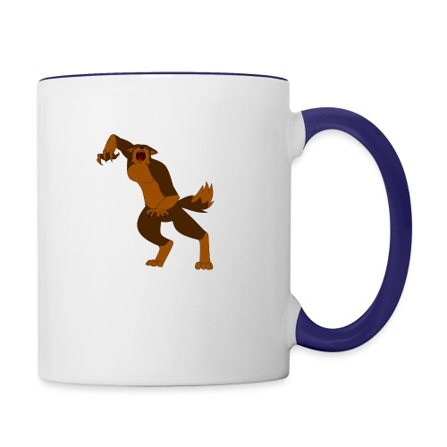Werewolf Kiba - Contrast Coffee Mug