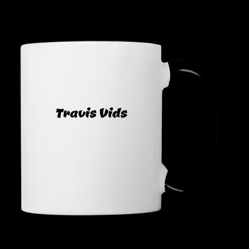 White shirt - Contrast Coffee Mug