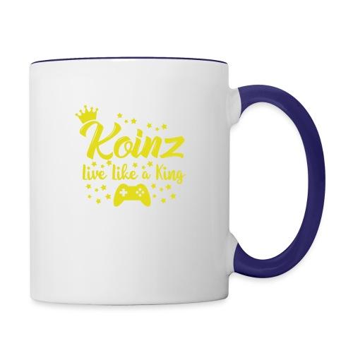 Live Like A King - Contrast Coffee Mug