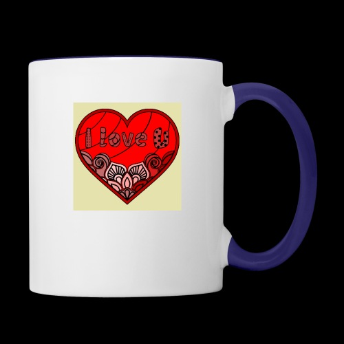 DE1E64A8 C967 4E5E 8036 9769DB23ADDC - Contrast Coffee Mug