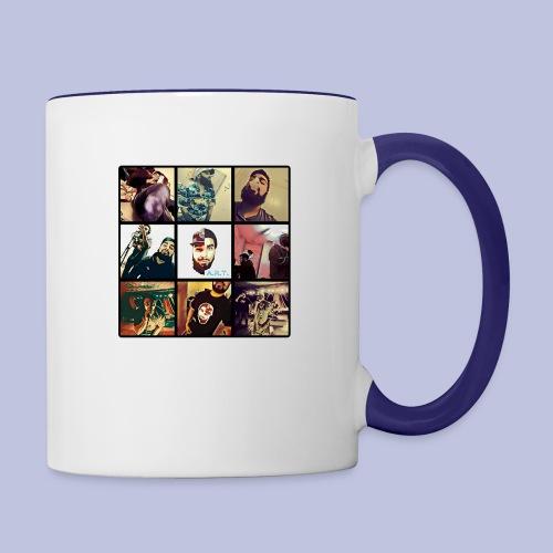 Throwback ART Mixtape Cover - Contrast Coffee Mug