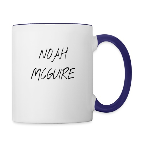 Noah McGuire Merch - Contrast Coffee Mug