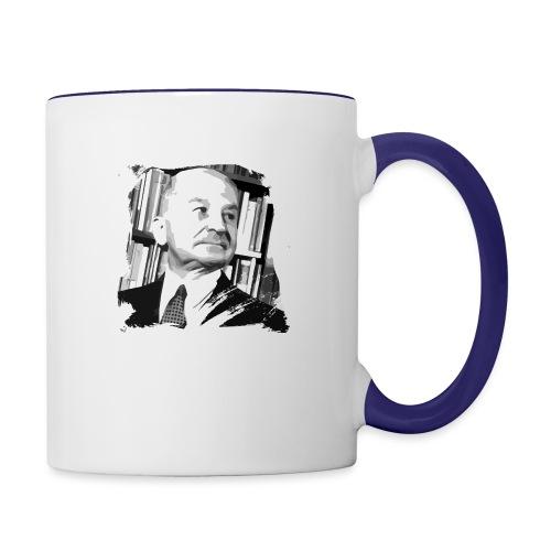 Ludwig von Mises Libertarian - Contrast Coffee Mug