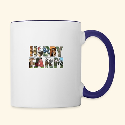 Island Hobby Farm White Logo - Contrast Coffee Mug