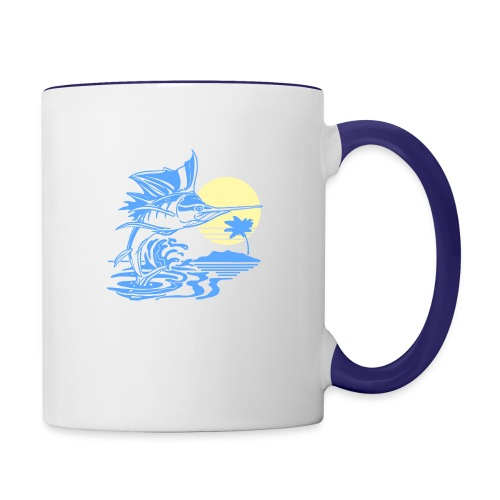 Sailfish - Contrast Coffee Mug