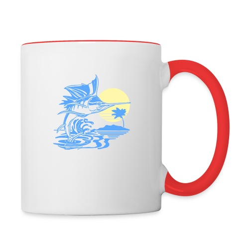 Sailfish - Contrast Coffee Mug