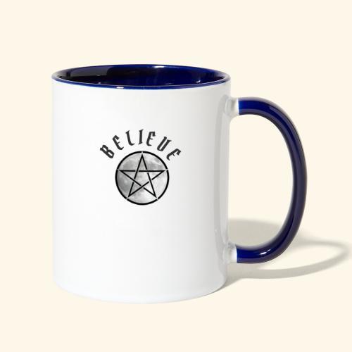 wicca moon - Contrast Coffee Mug