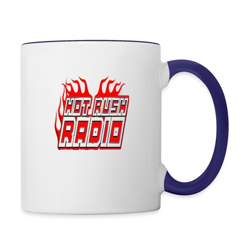worlds #1 radio station net work - Contrast Coffee Mug