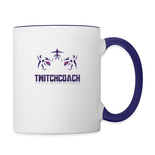TwitchCoach Merch - Contrast Coffee Mug