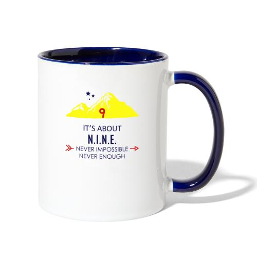 Design Mountain NEW - Contrast Coffee Mug