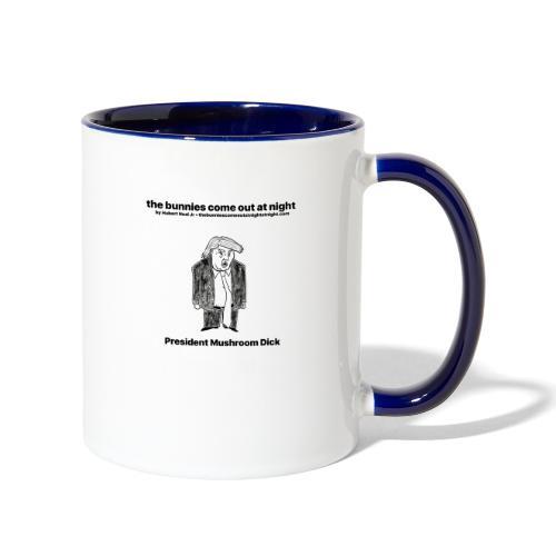 tbcoan Mushroom Dick - Contrast Coffee Mug