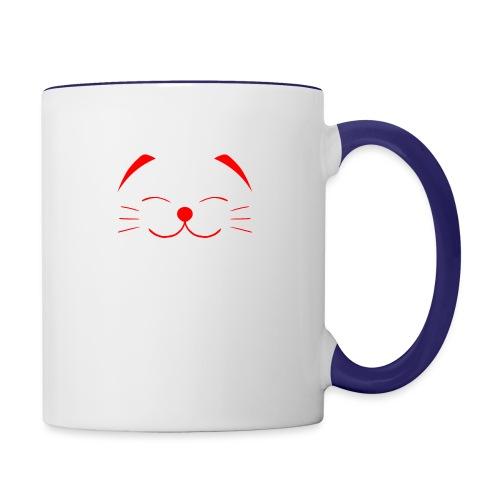 neko - Contrast Coffee Mug