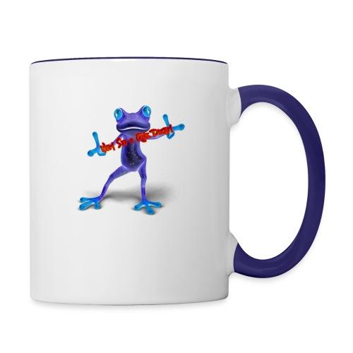 Logo - Nem Sei o Que Dizem - Podcast - Contrast Coffee Mug