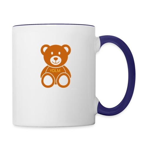Youdontlikeme teddy bear - Contrast Coffee Mug