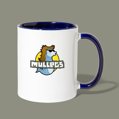 mullets logo - Contrast Coffee Mug