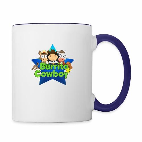 El Burrito Cowboy Star - Contrast Coffee Mug