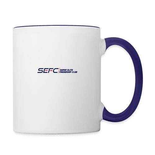 Super Elite Friendship Club Classy Line - Contrast Coffee Mug
