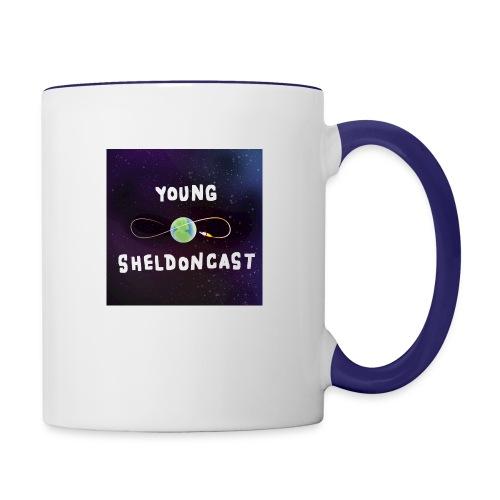 Young Sheldoncast - Contrast Coffee Mug