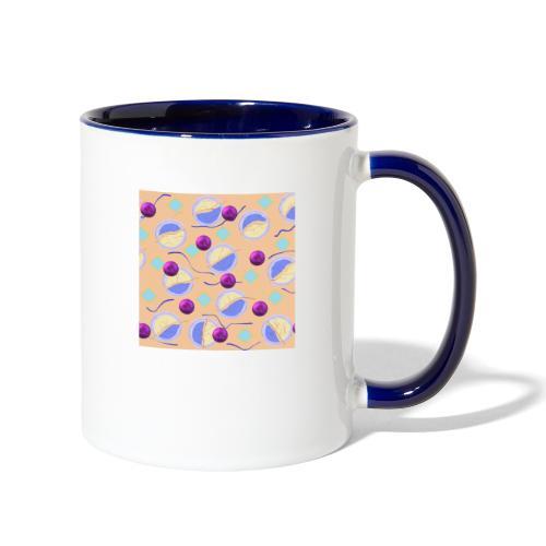 lovely cosmos - Contrast Coffee Mug