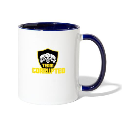 Team Corrupted Logo - Contrast Coffee Mug