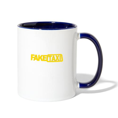 FAKE TAXI Duffle Bag - Contrast Coffee Mug