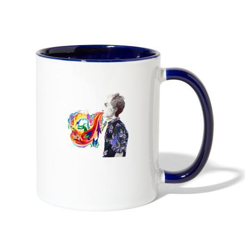 Breathe Cover Art - Contrast Coffee Mug