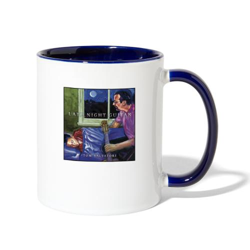 Cover Late Night Guitar - Contrast Coffee Mug