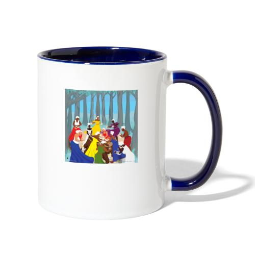 Etheric Touch Healing Ceremony Day time - Contrast Coffee Mug