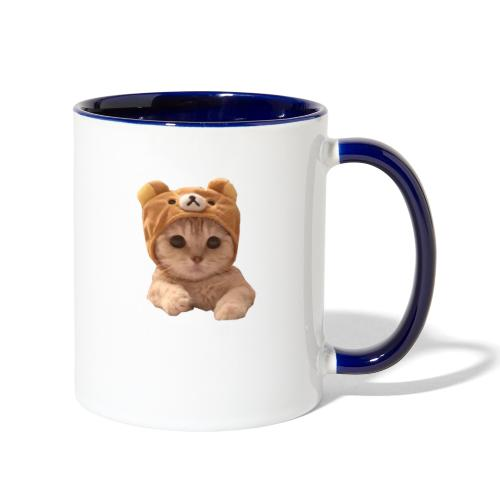 uwu catwifhat - Contrast Coffee Mug