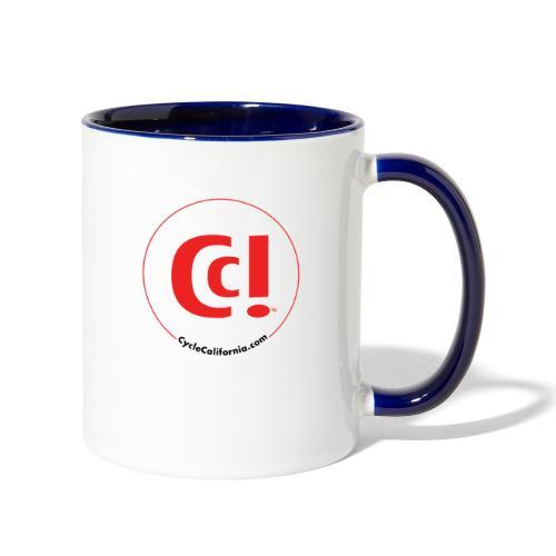 CC! logo - Contrast Coffee Mug