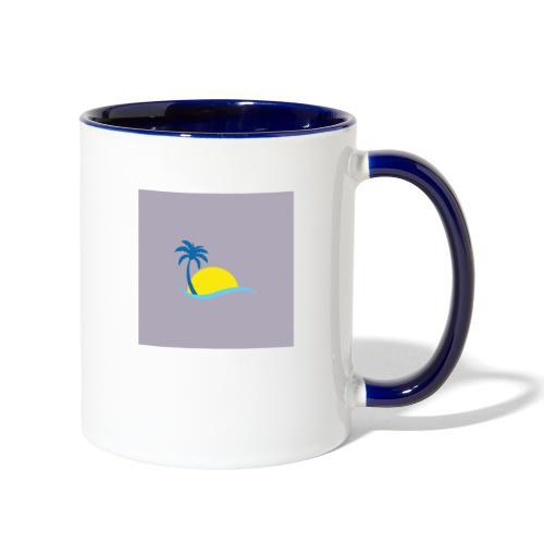 New model sun off plant - Contrast Coffee Mug