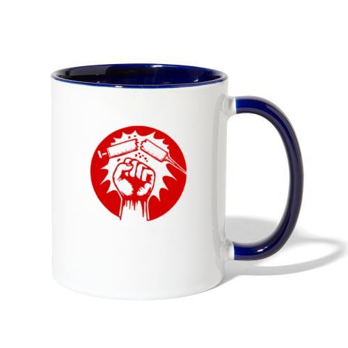 No Vaccine - Contrast Coffee Mug