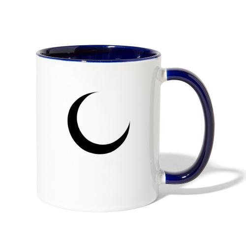 Crescent - Contrast Coffee Mug
