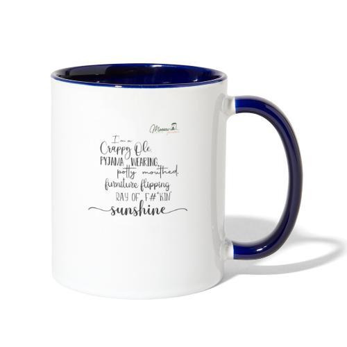 Ray of Sunshine - Contrast Coffee Mug