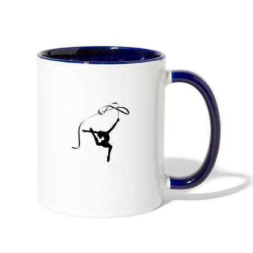 Rhythmic Figure 2 - Contrast Coffee Mug