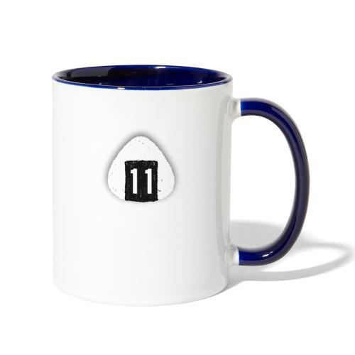 Onigiri Highway 11 Hawaii (dropshadow) - Contrast Coffee Mug