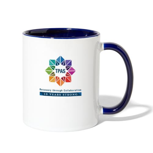 TPAS Color Stacked 10TH 5 13 TPAS OPTION A - Contrast Coffee Mug