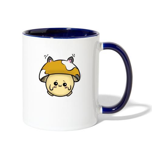 Kitten Mushru (Mitten) - Contrast Coffee Mug