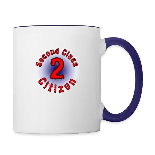 2nd Class Citizen Logo (Light) - Contrast Coffee Mug
