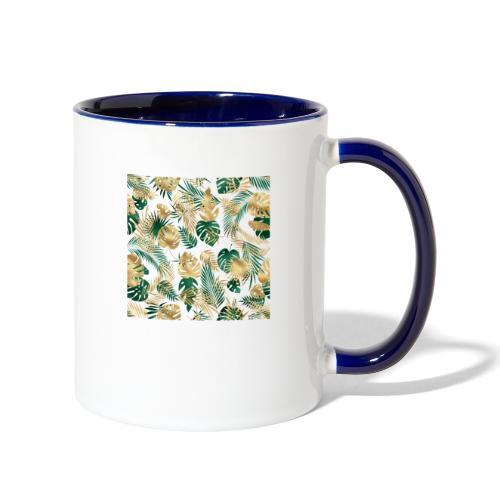 leaf overlay 1 - Contrast Coffee Mug