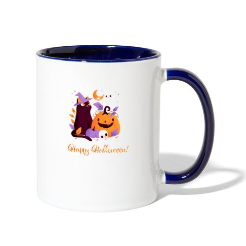 Halloween happy - Contrast Coffee Mug