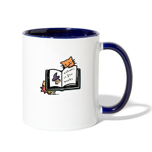 Autumn is for Books - Contrast Coffee Mug