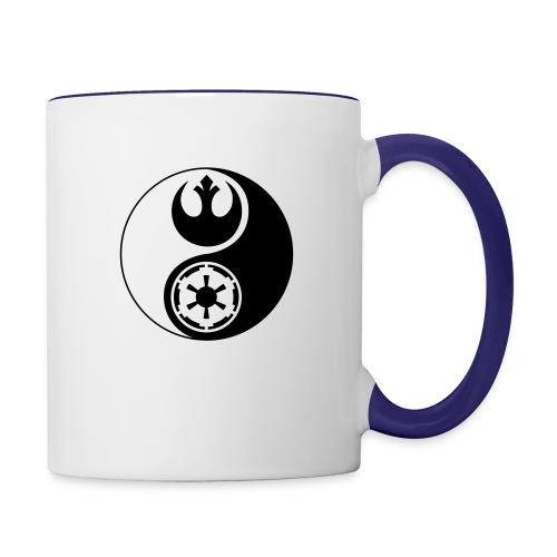 Star Wars Yin Yang 1-Color Dark - Contrast Coffee Mug