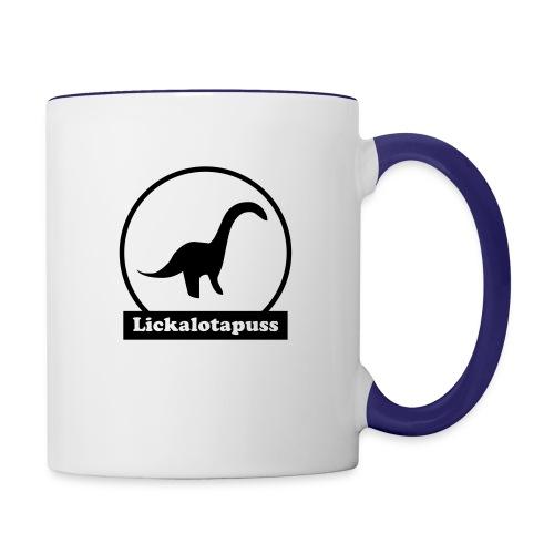 Lickalotapuss - Contrast Coffee Mug