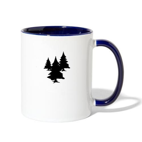 Bush Tree - Contrast Coffee Mug