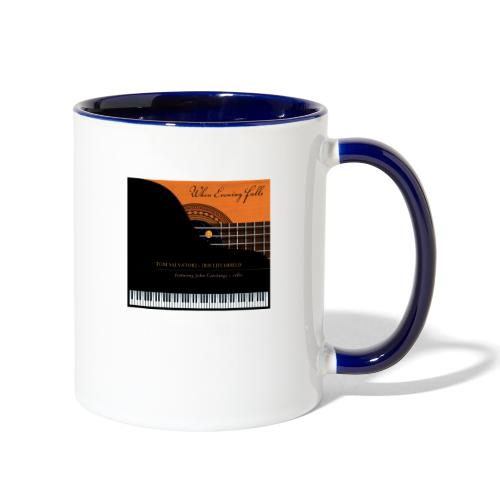When Evening Falls CD Cover - Contrast Coffee Mug
