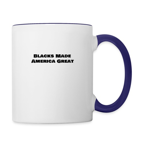(blacks_made_america) - Contrast Coffee Mug