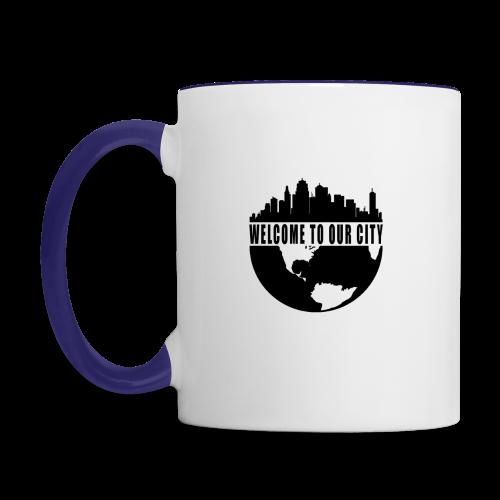 WTOC Logo Black - Contrast Coffee Mug