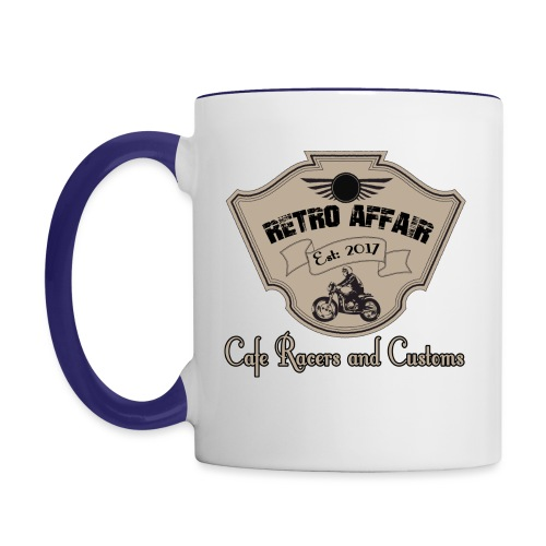 Retro Badge - Contrast Coffee Mug